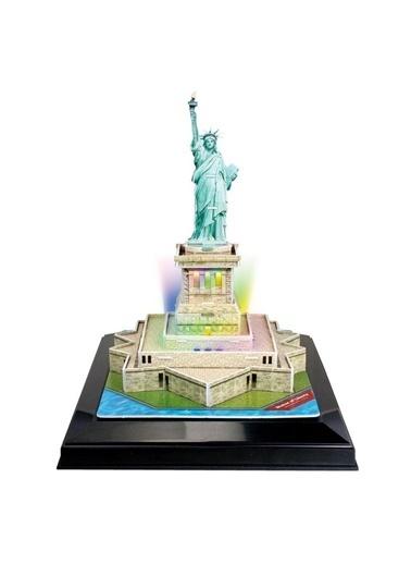 Cubic Cubic Fun 3D 37 Parça Puzzle Özgürlük Anıtı - Abd Renkli